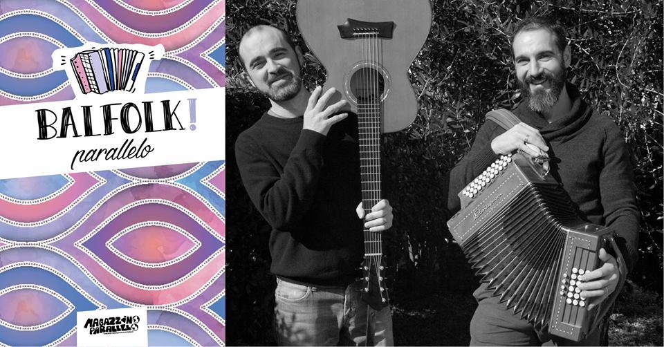 "Balfolk Parallelo: live duo ""David & Loris"""