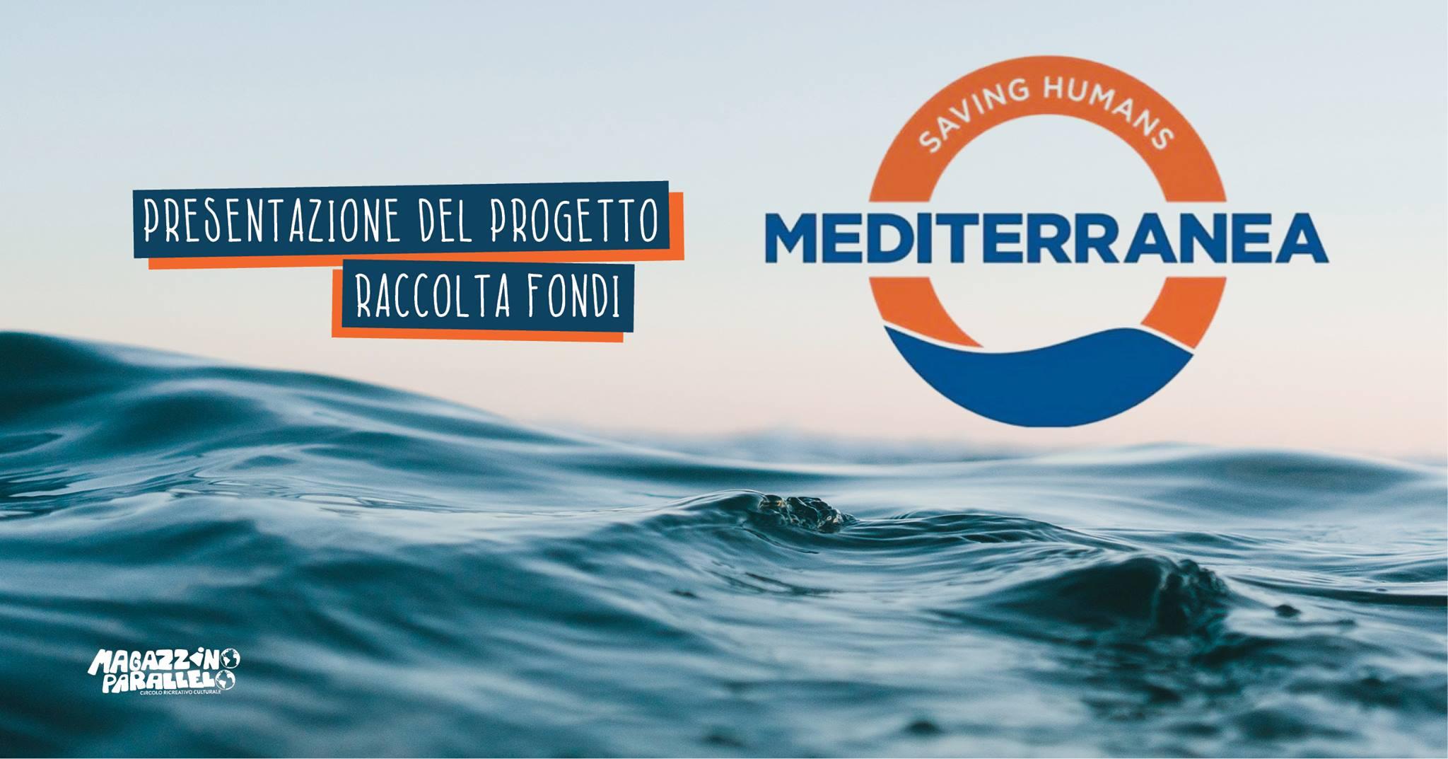 Mediterranea - Saving Humans approda al Magazzino Parallelo