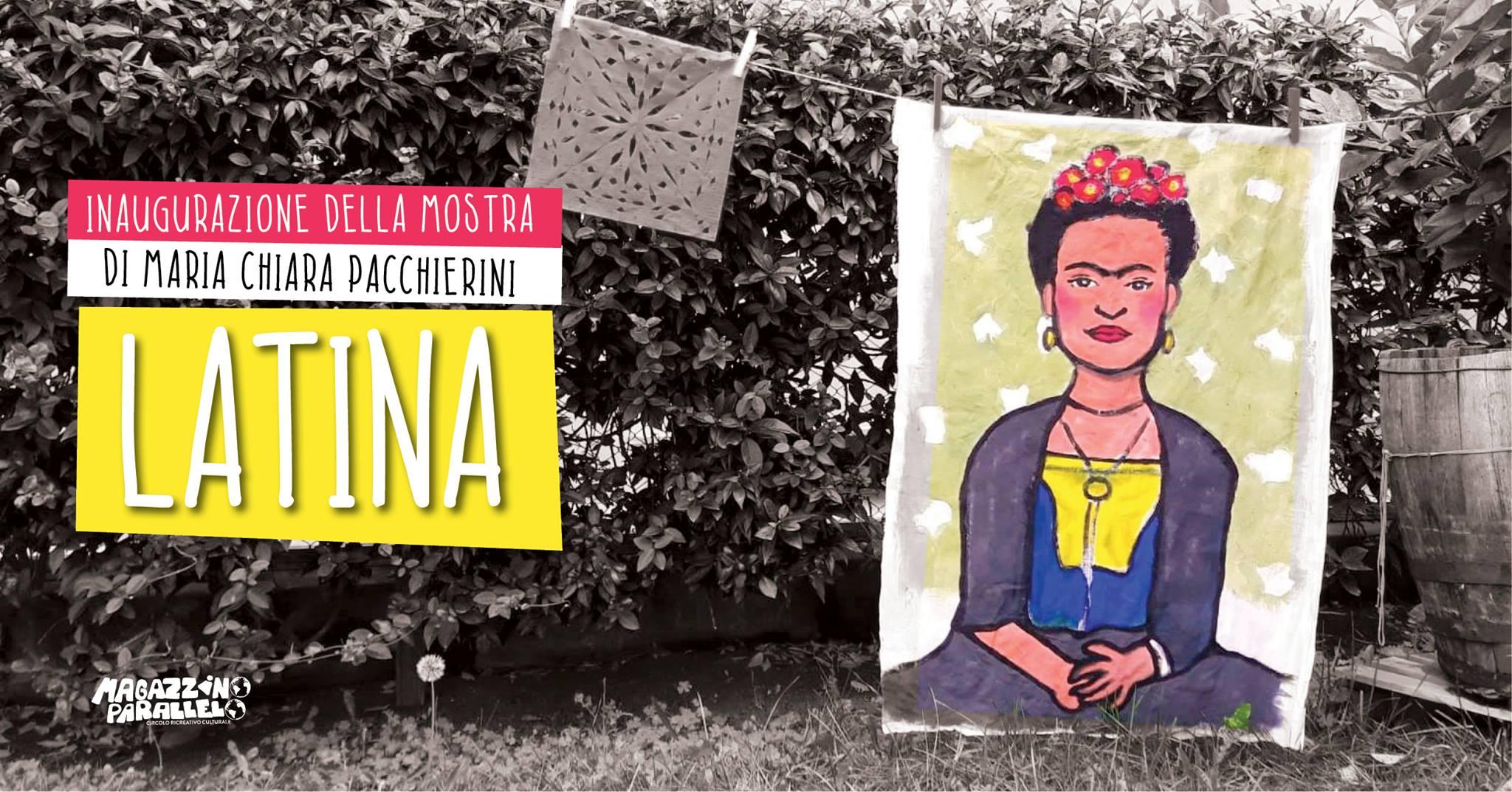 Latina / inaugurazione della mostra / at Magazzino Parallelo