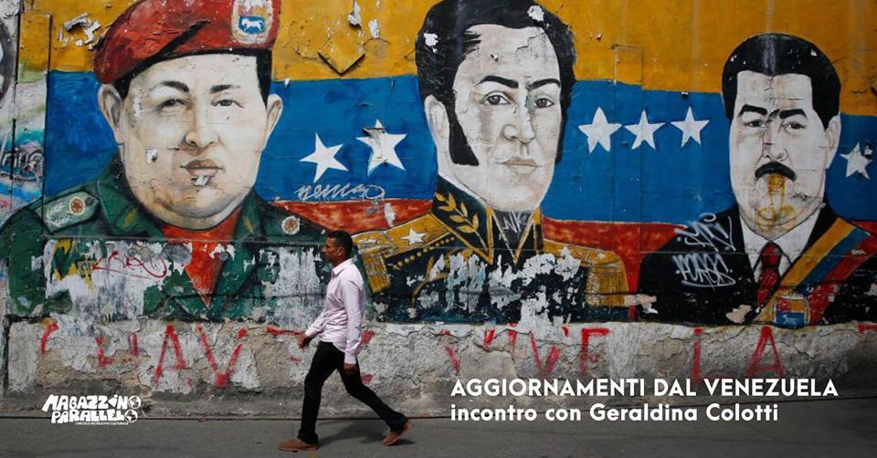 Reportage dal Venezuela / Geraldina Colotti / at Magaz Parallelo
