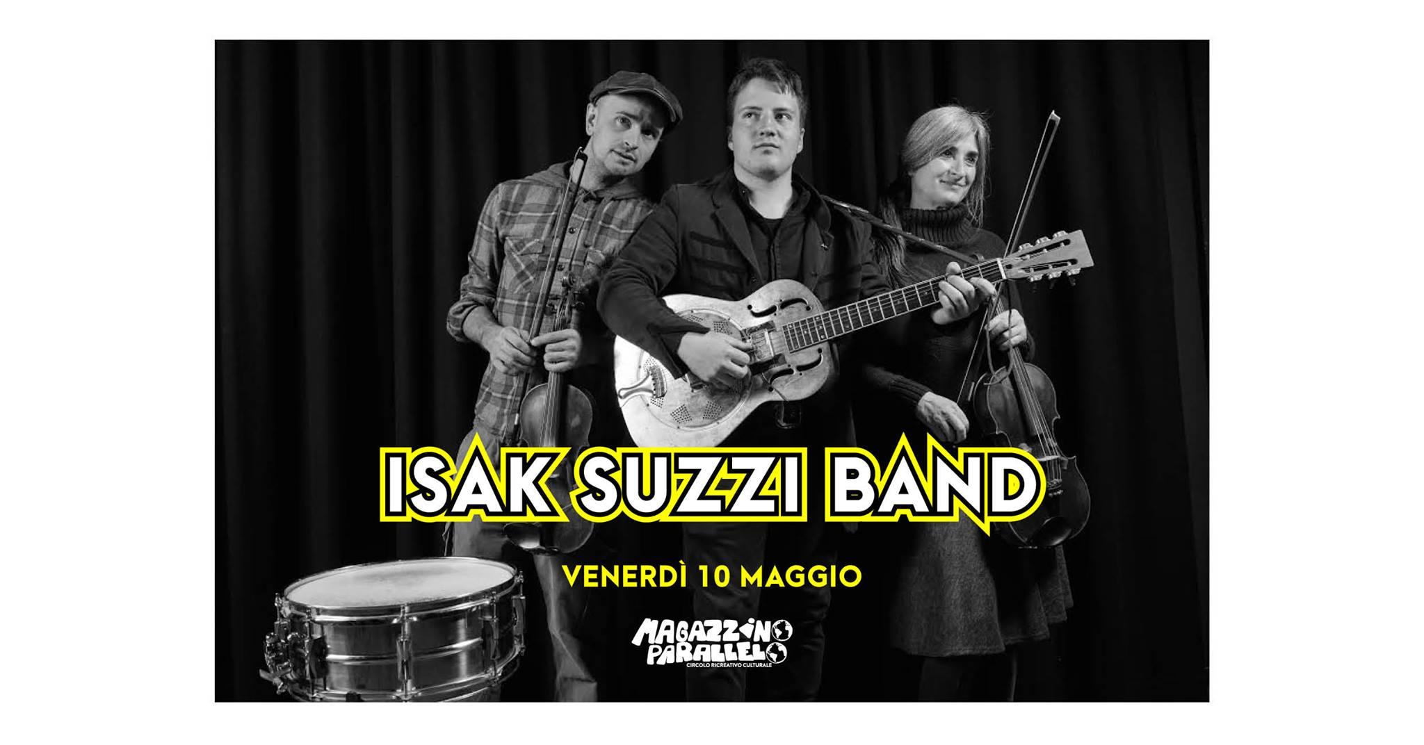 Isak Suzzi Band ⌁ Dark-Rebel-Blues / at Magazzino Parallelo