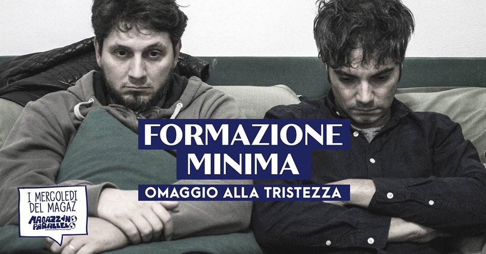 Formazione Minima / at Magazzino Parallelo