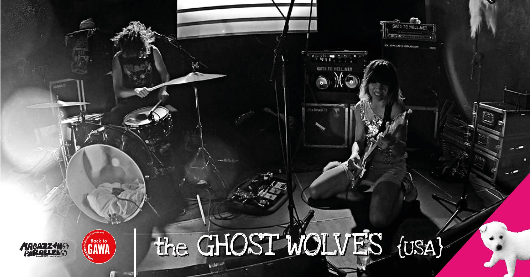 The Ghost Wolves - USA // at Magazzino Parallelo