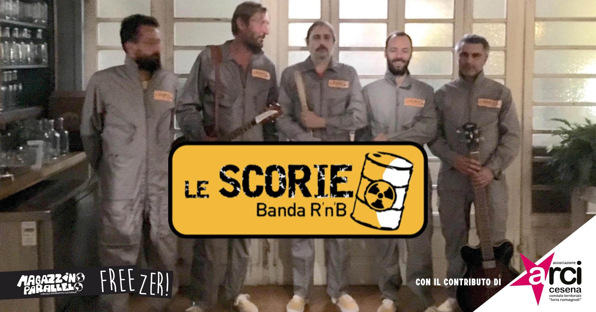 Le Scorie live / at Freezer!