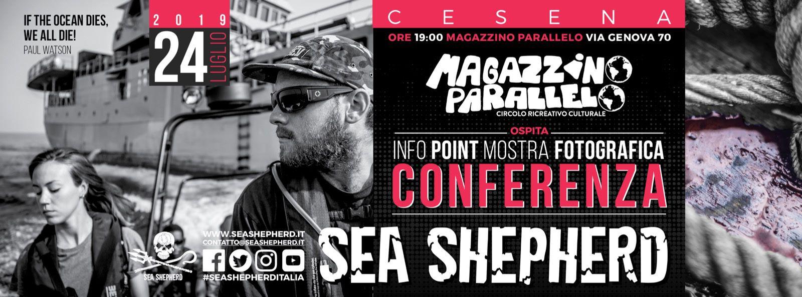 Sea Shepherd a Cesena (FC) il 24/07