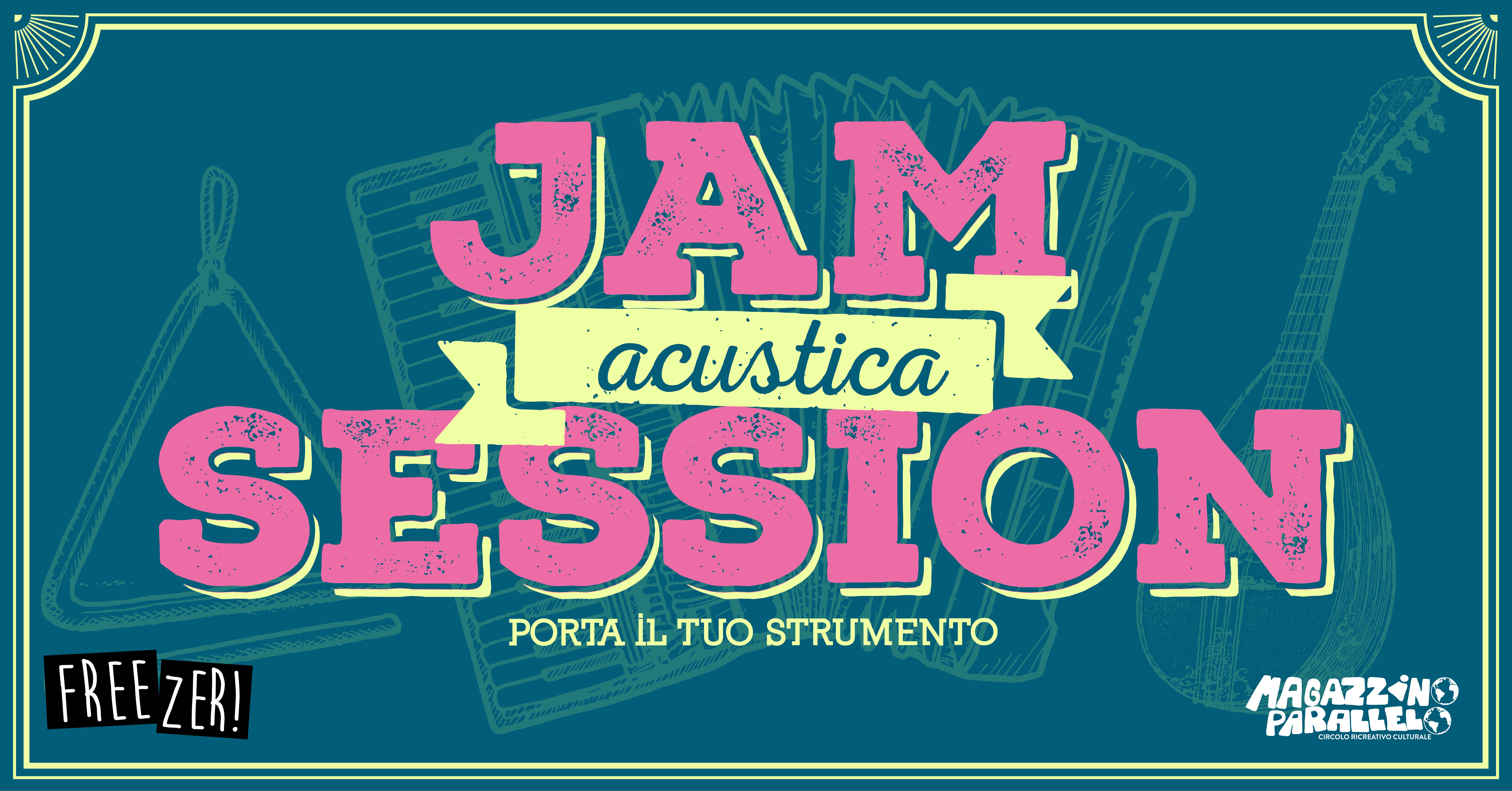 Jam Session Acustica / at Freezer!