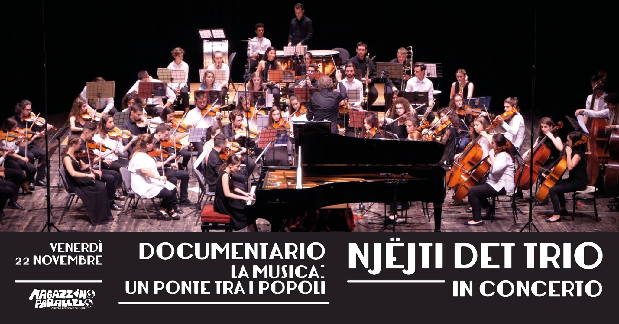 Un ponte tra i popoli - Njëjti Det Trio / at Magazzino Parallelo
