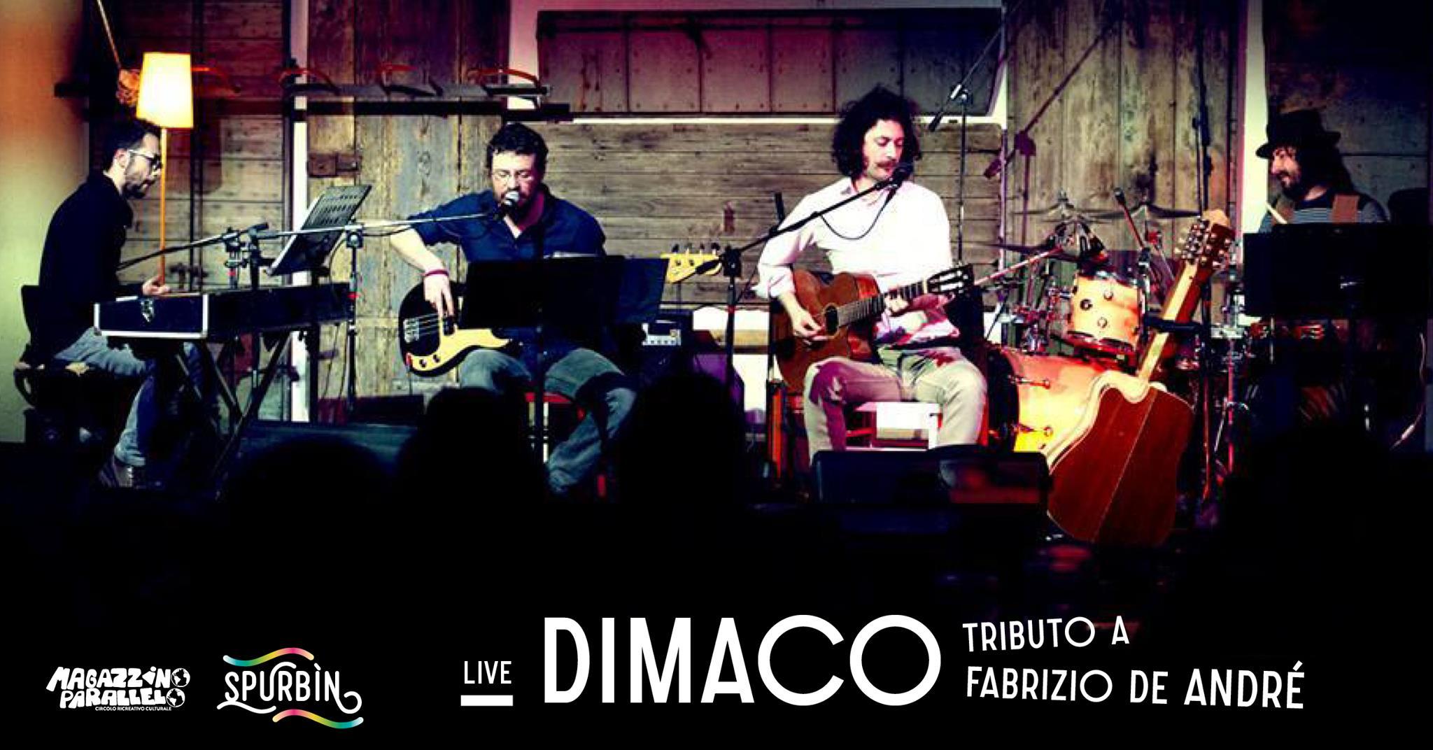 Dimaco - Tributo a Fabrizio De André / at Spurbìn