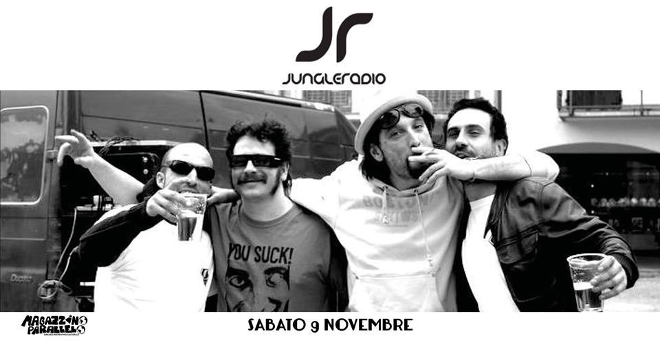 Jungle RADIO Live Project at Magazzino Parallelo