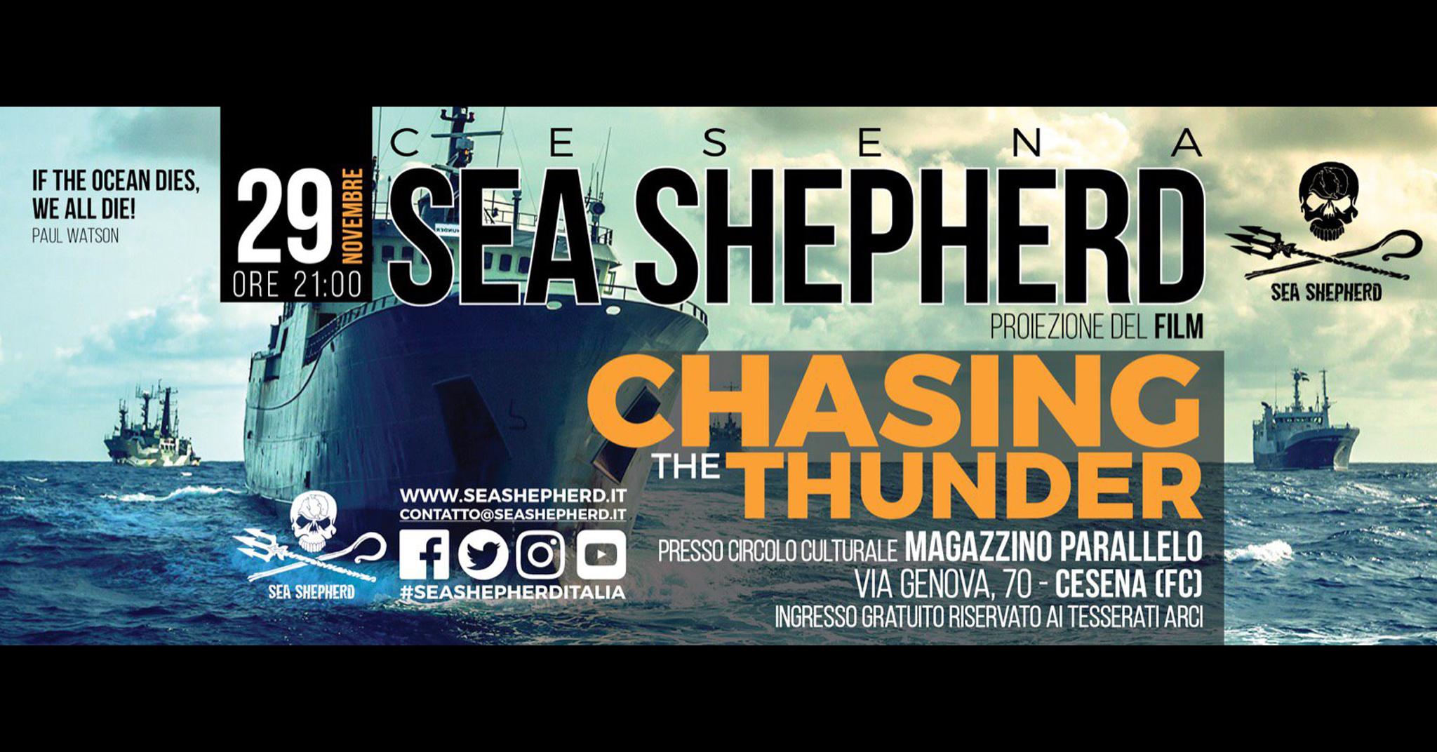 Sea Shepherd a Cesena il 29/11