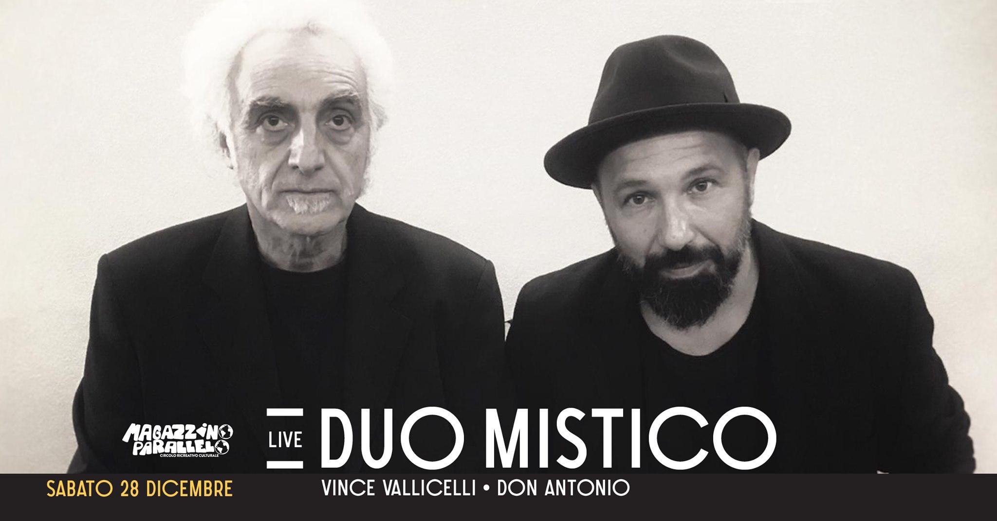 Duo Mistico: Don y Vince // at Magazzino Parallelo